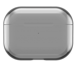 Incase Clear etui for AirPods Pro - Svart/grå