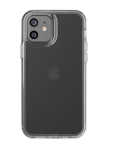 tech21 EvoClear deksel for iPhone 12 mini i gjennomsiktig design