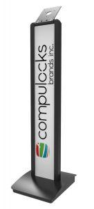 Compulocks BrandMe gulvstativ - svart