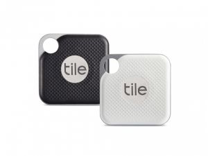 Tile Pro sporingsbrikke 2-pakk - svart og hvit