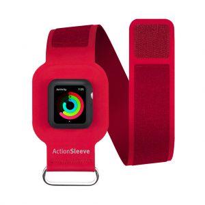 Twelve South ActionSleeve armbånd til Apple Watch 42 mm - rød