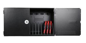 NoteBox Flex 16 strømpanel / ladeskap for iPad - Svart