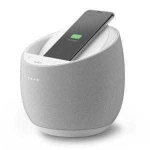 Belkin Soundform Elite Hi-Fi Smart høyttaler med trådløs lading