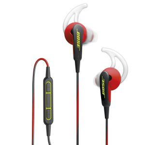 Bose SoundSport in-ear ørepropper rød