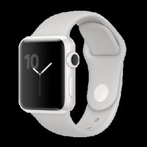 Apple Watch Edition 38 mm keramisk hvit med porselensfarget Sport Band