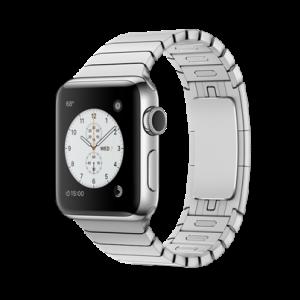 Apple Watch Series 2 38 mm stål med Link Bracelet