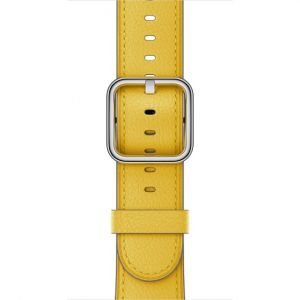 Apple 38 mm Classic Buckle i solsikkegul