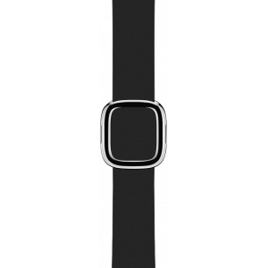 Apple 38 mm Modern Buckle i svart - Small