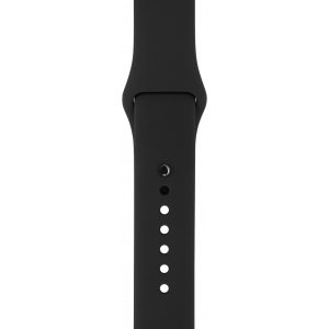 Apple Sport Band 42 mm - svart (M/L & L/XL)