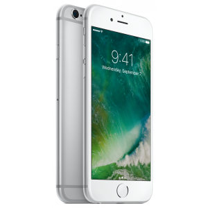 iPhone 6s 128 GB i sølv