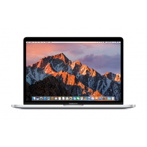MacBook Pro 13-tommer med Touch Bar 3,1 GHz 256 GB i sølv (2017)