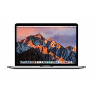 MacBook Pro 13-tommer med Touch Bar 3,3 GHz i7 256 GB i stellargrå, 16GB ram (sen 2016-modell)