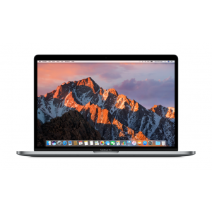 MacBook Pro 15-tommer med Touch Bar 2,8 GHz 256 GB i stellargrå
