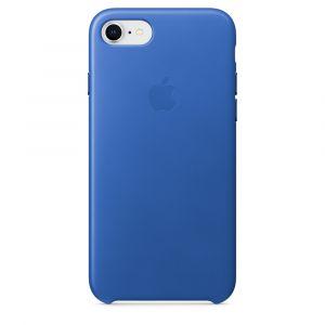Apple skinndeksel til iPhone 8/7 – elektrisk blå