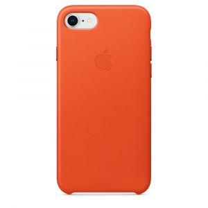Apple skinndeksel til iPhone 8/7 – knall oransje