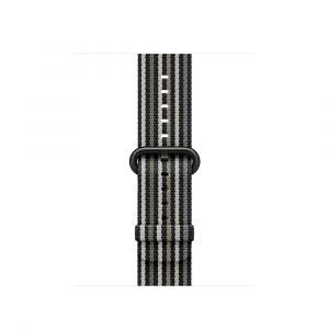 Apple vevet nylonrem 38 mm - svart stripe