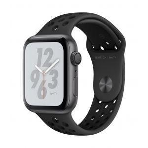 Apple Watch Series 4 Nike+ GPS 44 mm - stellargrå med antrasitt/svart Nike Sport Band