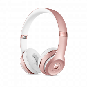 Beats Solo3 trådløse hodetelefoner - rosegull