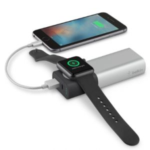 Belkin Valet Charger 6700 mAh strømbank for iPhone og Apple Watch