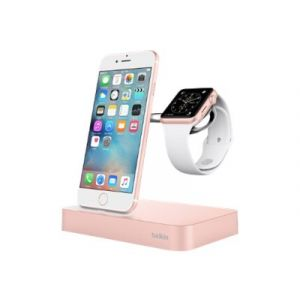 Belkin Valet Dock for iPhone og Watch i rosegull