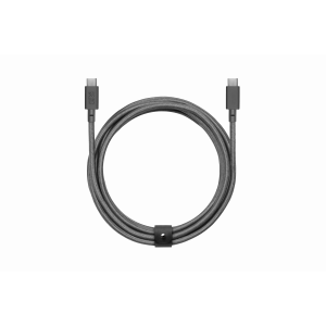 Native Union Slate USB-C Belt Cable 2,4 m - skifer