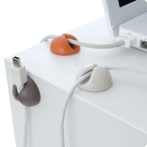 BlueLounge CableDrop 6-pakning - duse farger