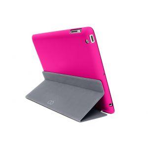 C6 iPad Air 2 Bookcase - rosa/grå