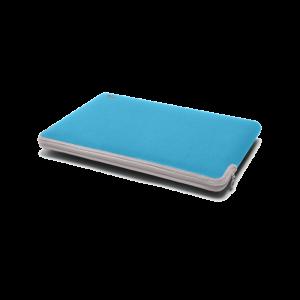 C6 Neoprene Zip Sleeve for MacBook 12-tommer - blå/grå