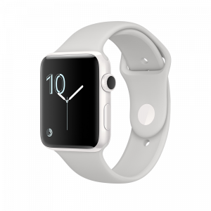 Apple Watch Edition 42 mm keramisk hvit med porselensfarget Sport Band