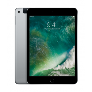 iPad mini 4 Wi-Fi + Cellular 128 GB i stellargrå