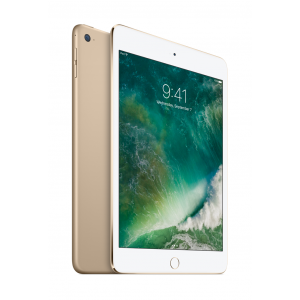 iPad mini 4 Wi-Fi 128 GB i gull