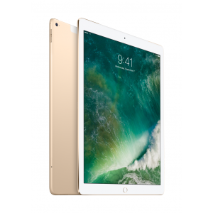 iPad Pro 12,9-tommer Wi-Fi + Cellular 128 GB i gull  (sen 2015-modell)