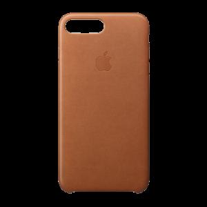 Apple skinndeksel for iPhone 8 Plus/7 Plus - lærbrun