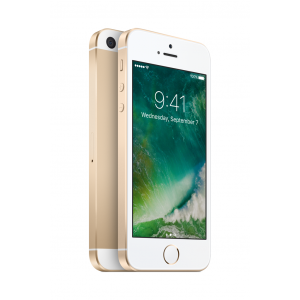 iPhone SE 128 GB i gull