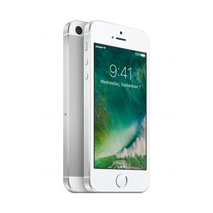 iPhone SE 128 GB i sølv