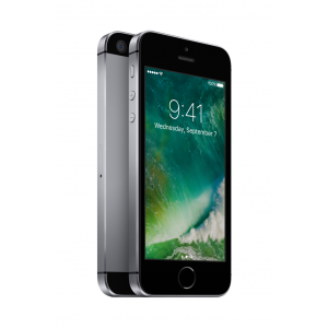 iPhone SE 32 GB i stellargrå