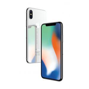 iPhone X 256 GB - sølv
