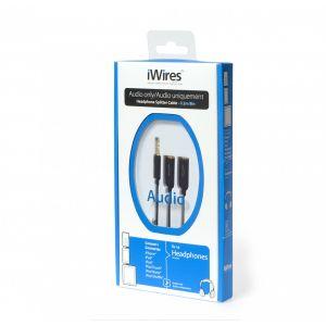 iWires 3.5mm - 2x3.5mm splitter