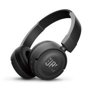 JBL T450BT trådløse on-ear hodetelefoner - svart