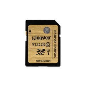 Kingston SDXC minnekort - 512 GB