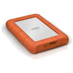 LaCie 2 TB Rugged Mini USB 3.0 bærbar disk