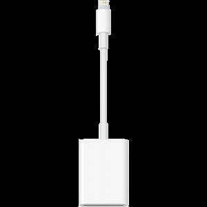 Apple Lightning til SD-minnekortleser