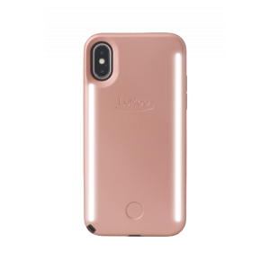 LuMee Duo selfie-deksel til iPhone X - matt rosa