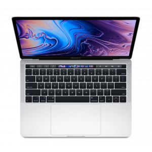 MacBook Pro 13-tommer med Touch Bar 2,3 GHz 256 GB  i sølv