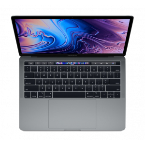 MacBook Pro 13-tommer med Touch Bar 2,3 GHz 512 GB  i stellargrå
