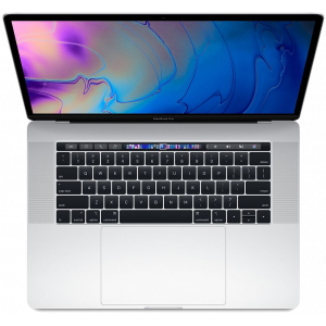 MacBook Pro 15-tommer med Touch Bar 2,2 GHz 256 GB  i sølv