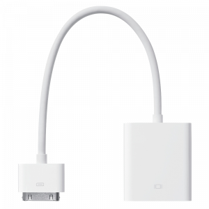 Apple 30-pinners til VGA-adapter