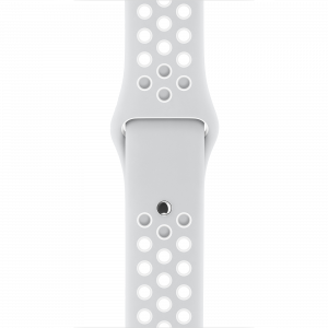 Nike Sport Band 38 mm - platina/hvit
