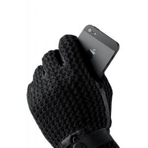 Mujjo Crochet Touchscreen hansker - medium (8,5)