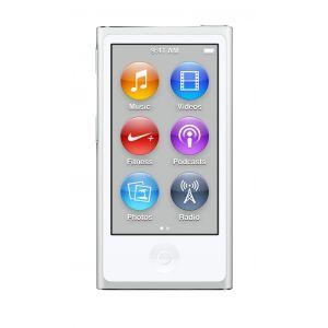 iPod nano 16 GB i hvit og sølv